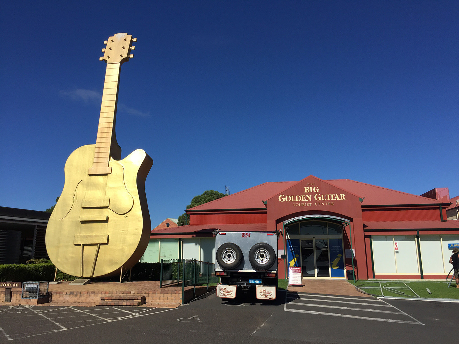 The Golden Guitar in Tamworth, NSW, Australia