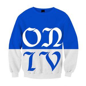 """LONG LIVE"" Sweatshirt Blue"