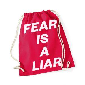 """""""FEAR IS A LIAR"""" Gymsack"""